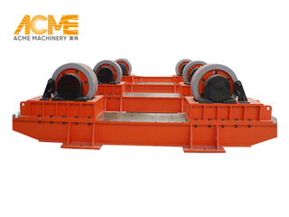 80T Bolt Adjustable Welding Turning Roller For Pipe