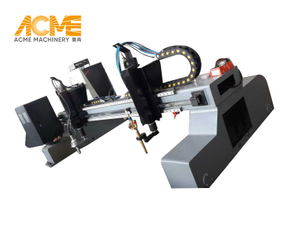 5m Automatic CNC Flame And Plasma Cutting Machine