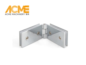 Continuous Full Length Shower Door Hinge Glass To Glass