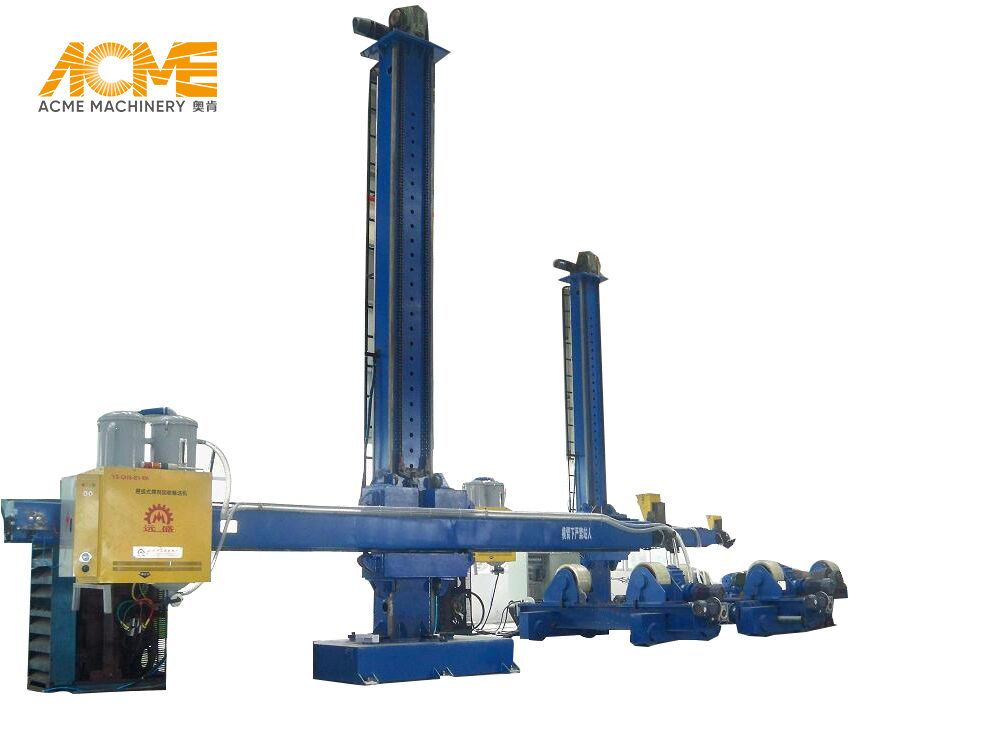 3x3 Fixed Welding Column & Boom Manipulator