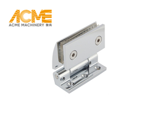 Frameless Bifold Shower Door Hinge For Bathroom Glass